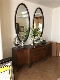 Barbara Barry side board & mirrors