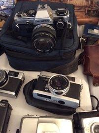 Lots of Vintage Cameras