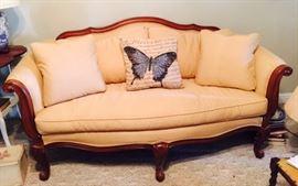 Ethan Allen Sofa with Down Cushions