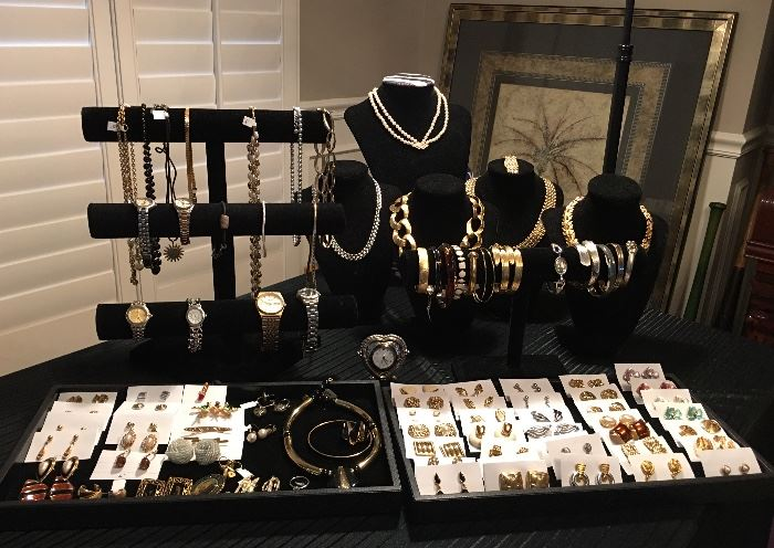 Very Nice Assortment Of Jewelry & Watches - There Will Be Some Gold & Sterling Silver.