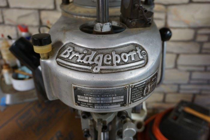 Bridgeport mill machine