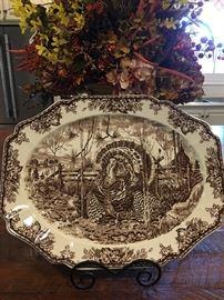 Beautiful Williams Sonoma Wedgewood Ironstone Platter England