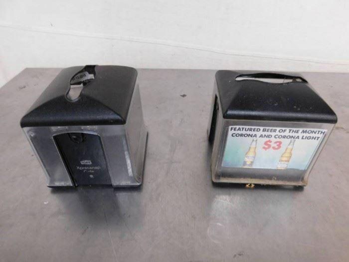 2 Tork Xpressnap Napkin Dispenser