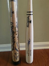 Signed Bats from Worth