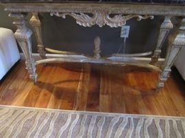ORNATE FOYER TABLE