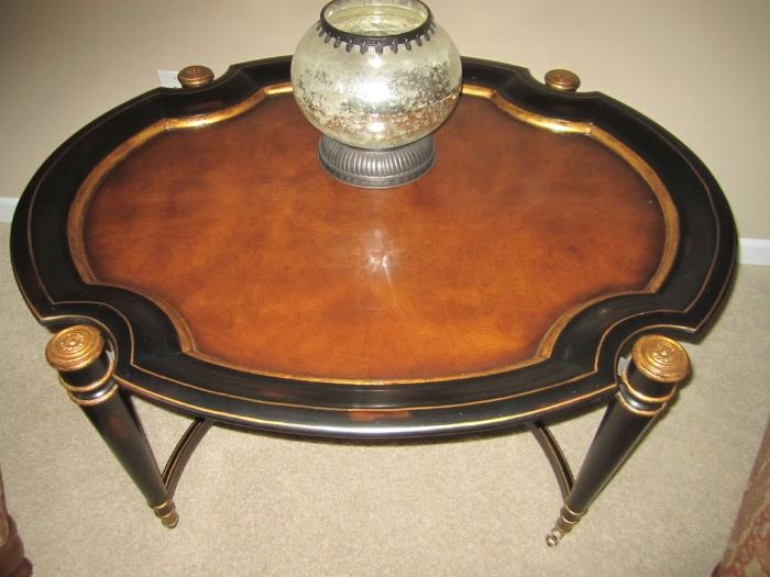 DETAIL OF SIDE TABLE