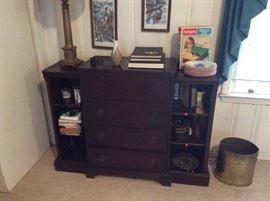 Great desk and bookshelf