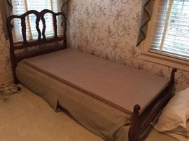 Pair of French Provencial Twin beds