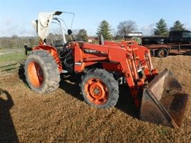 Tractor does not include scoop which is $300.