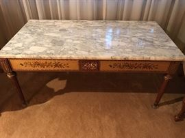 Beautiful marble top piece