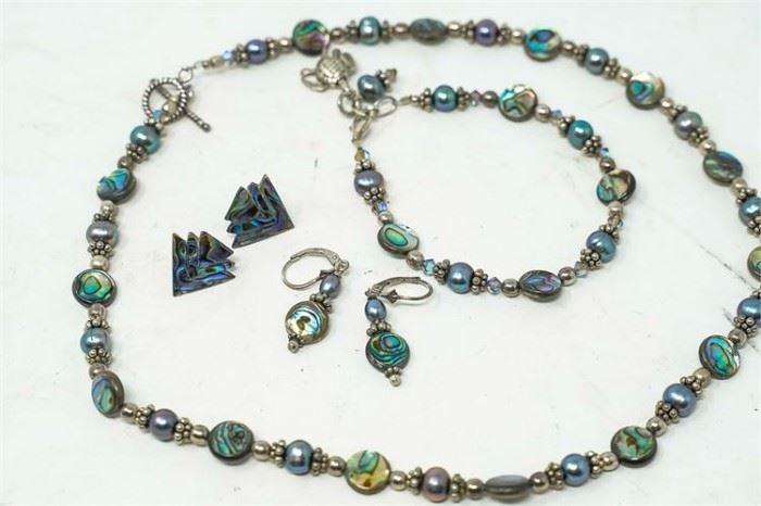 12. Set of Beaded Jewelry