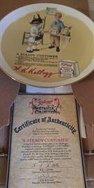 Kellogg's collector's plate