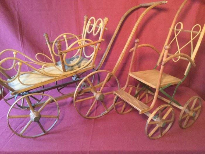 011 Fabulous Bent Wood Carriage