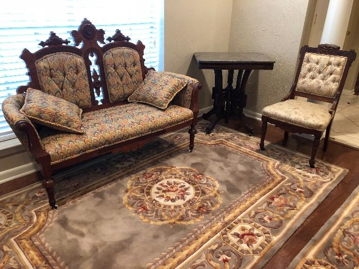 Antique Victorian period furniture