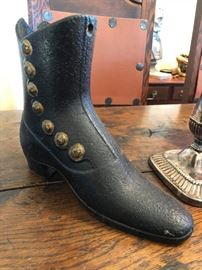 Cast iron boot sleeve.