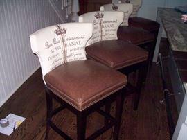 Just amazing Kristan Drohan Bar Stools, Island Stools, swivel seats, like new