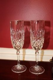 Crystal wine/champagnes
