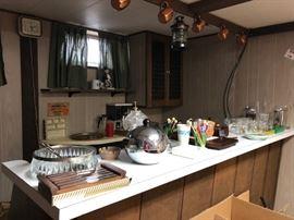 Barware - Copper Mugs, Penguin Ice Bucket,  Stir Sticks, Ice Crusher, Lantern Shaped Decanter