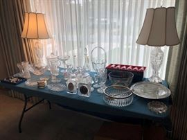 Crystal and Glassware, some Waterford