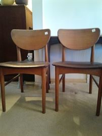 Two mid-century chairs $10.00