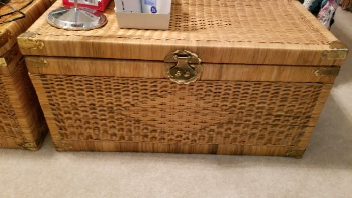 Wicker chest - there are 2 of these