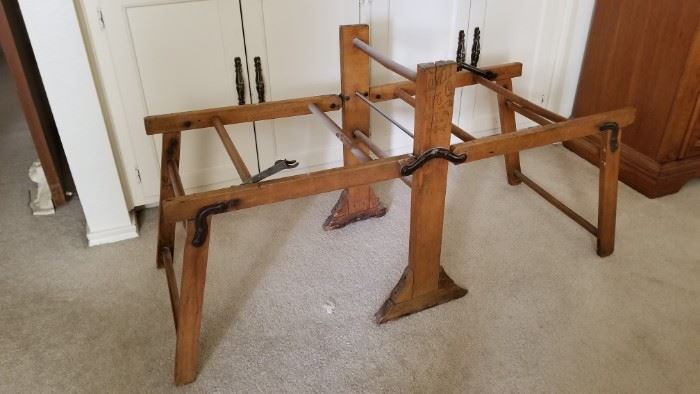 Lovell Manufacturing Company antique wringer rack