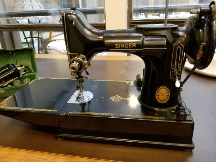 Singer Portable Electric Sewing Machine 2-1-1