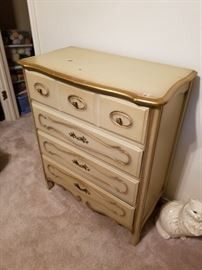 dresser  - matches the vanity and 2 nightstands