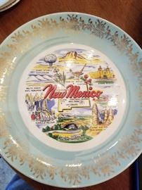 Souvenir plates - one of many
