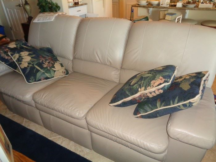Recliners on ends