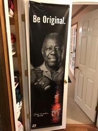Hank Aron Baseball coke ad