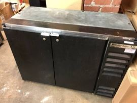 Beverage Air back bar refrigerator. Under Counter.