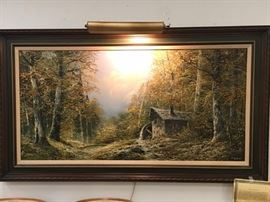 Large Josef Kugler Sen Original Oil Painting