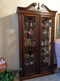 curio cabinet … why do they call it that … are curios in it???
