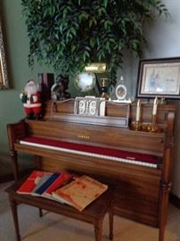 Yamaha piano … only played on sundays
