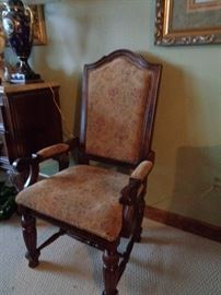 a pair of these, upholstery matches dining room chairs