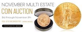 0  November Multi Estate Coins