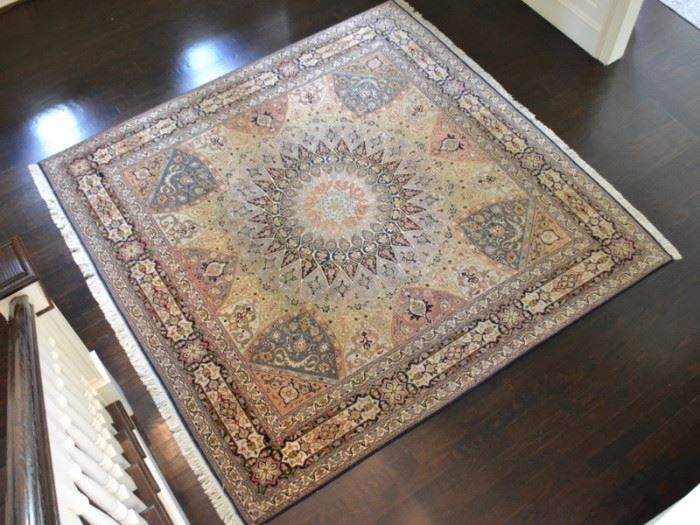 "Oriental rug, measures approx. 10'2"" X 10'5"""
