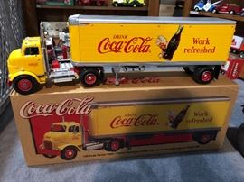 Die cast Coca Cola with box. Excellent condition