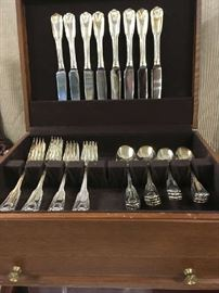 Silverware and Chest
