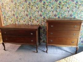 Vintage  dresser and chest