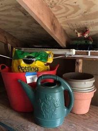 Assorted Pots and Potting Soil https://ctbids.com/#!/description/share/63684