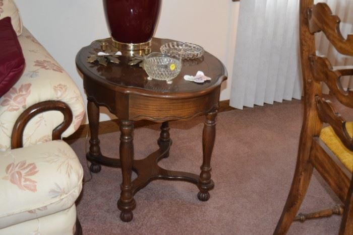Side Table & Home Decor
