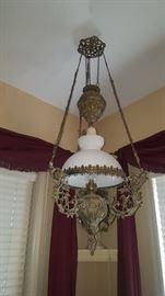 Beautiful Brass Light (not electrified)
