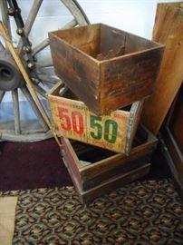 Vintage Wood Crates