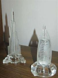Crystal Burj Khalifa Skyscraper & Dubai, United Arab Emirates