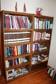 Books, bookcases, and more!