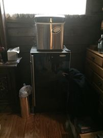 Wine cooler and counter top ice maker