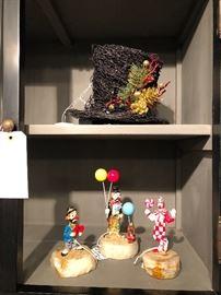 Ron Lee Clown Sculptures