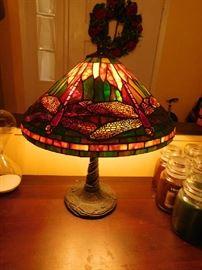 Tiffany Style lamp (Dragon fly)